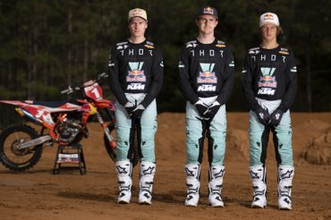 KTM Thor Racing Team rider line-up