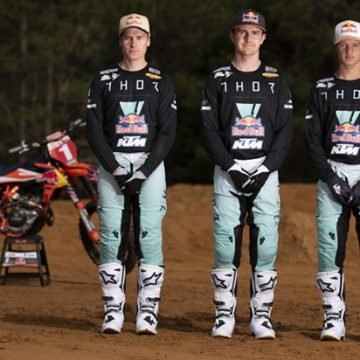 KTM Thor Racing Team rider line-up