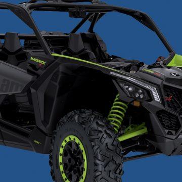 Can-Am Maverick X3 brake pads