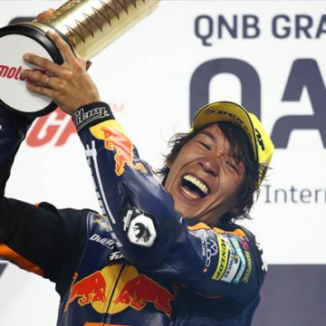 Nagashima achieves first victory in Moto2