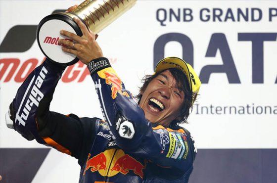 Victoire de Nagashima à Losail !